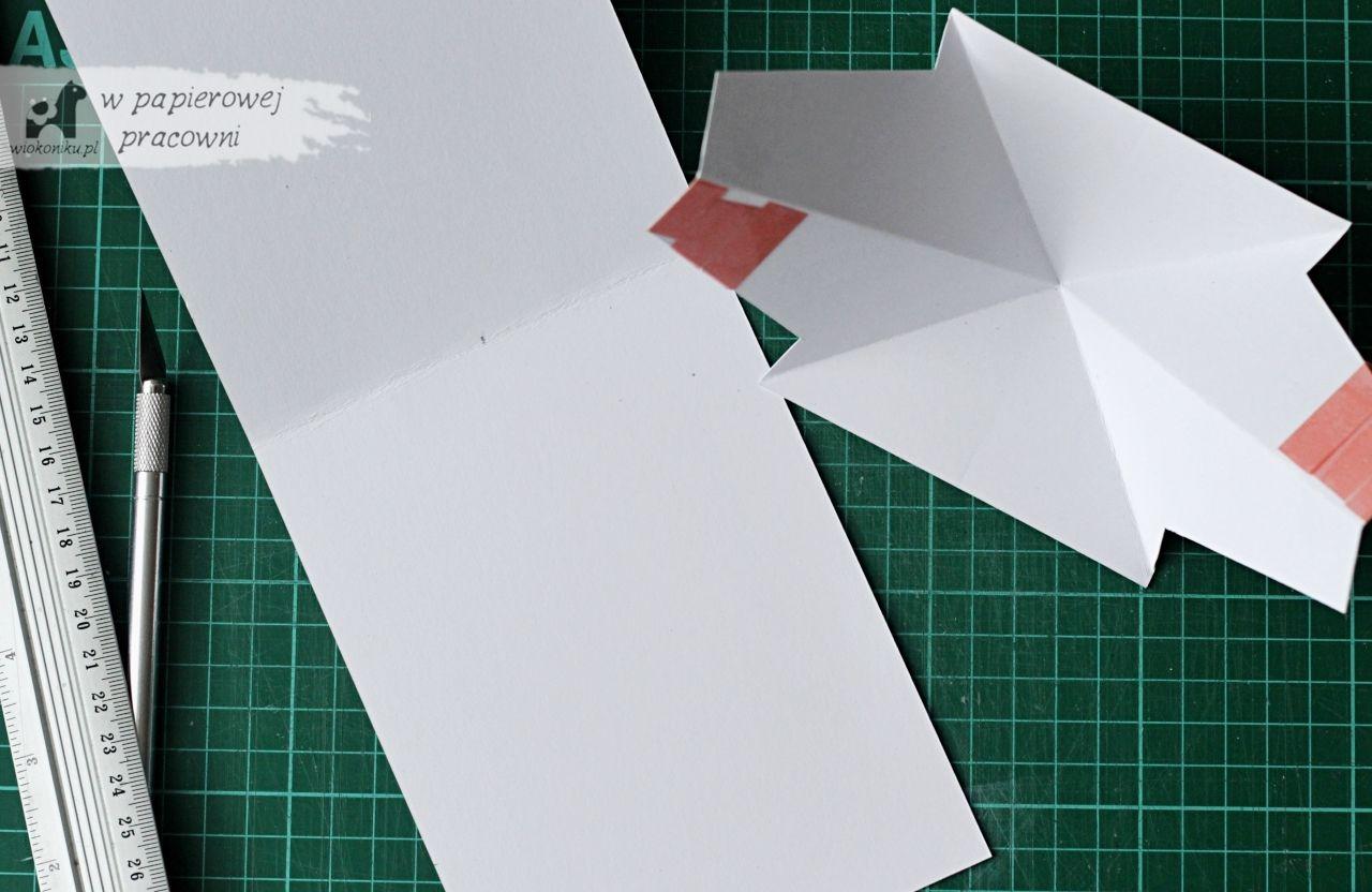 Kartk twis pop up kurs krok po kroku