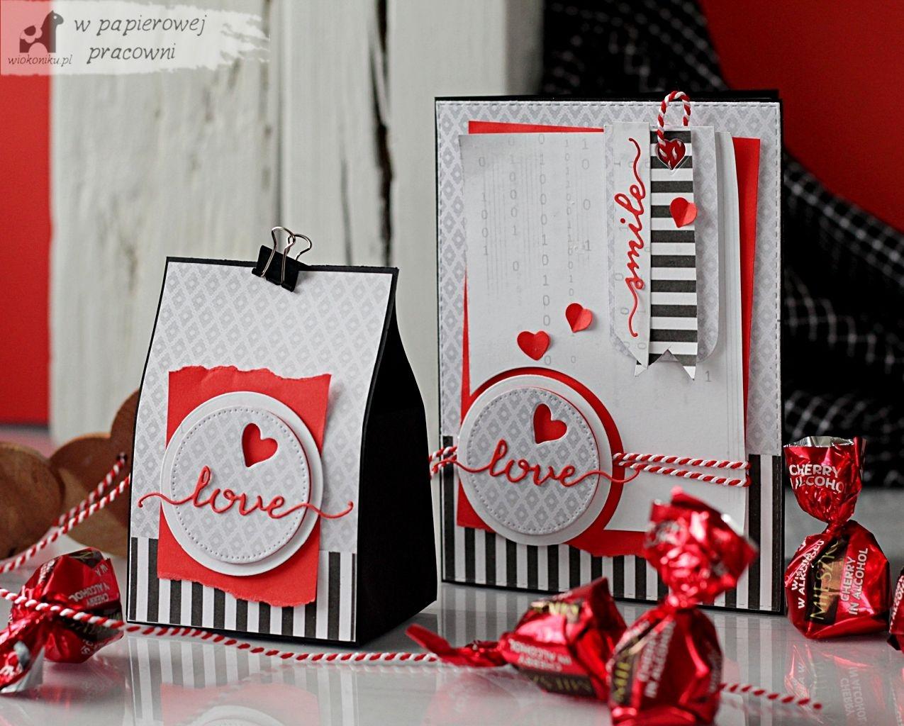 Walentynkowy komplet dla mężczyzny