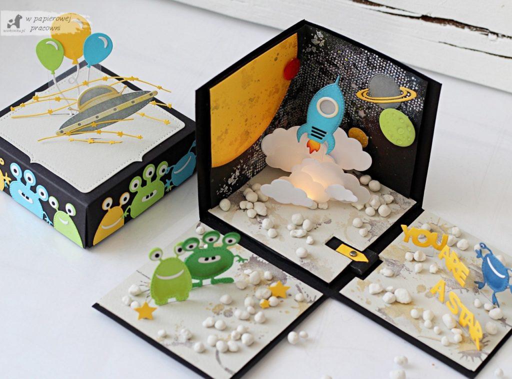 Kosmiczny, interaktywny box dla chłopca