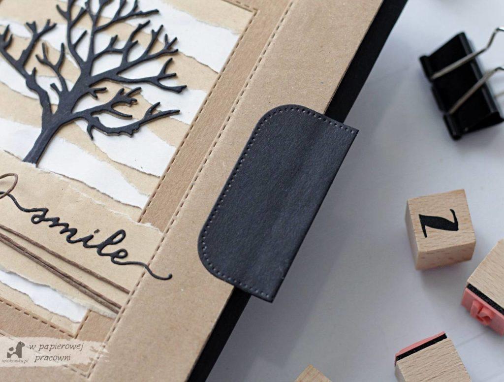 zero waste - okładka wykonana z materiałów wtórnych