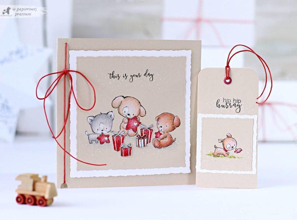 urodzinowa karteczka w stylu clean&simple