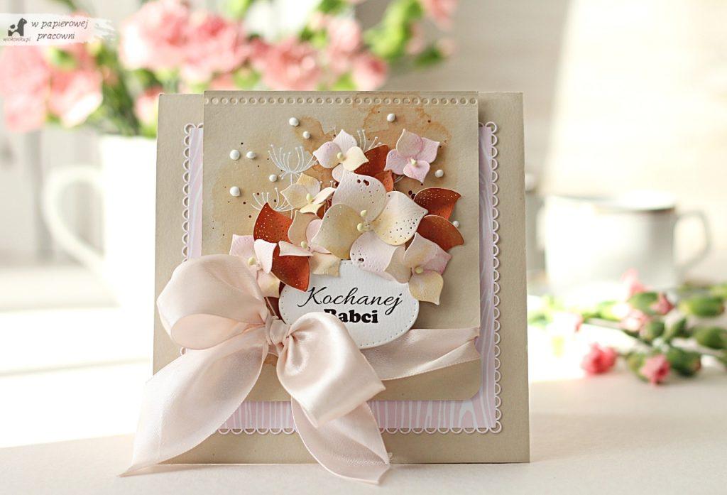 kartka dla babci - pop up gift card holder