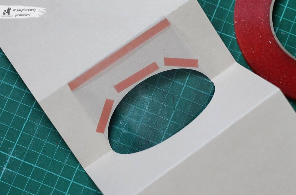 kartka  pop up gift card holder - kurs krok po kroku