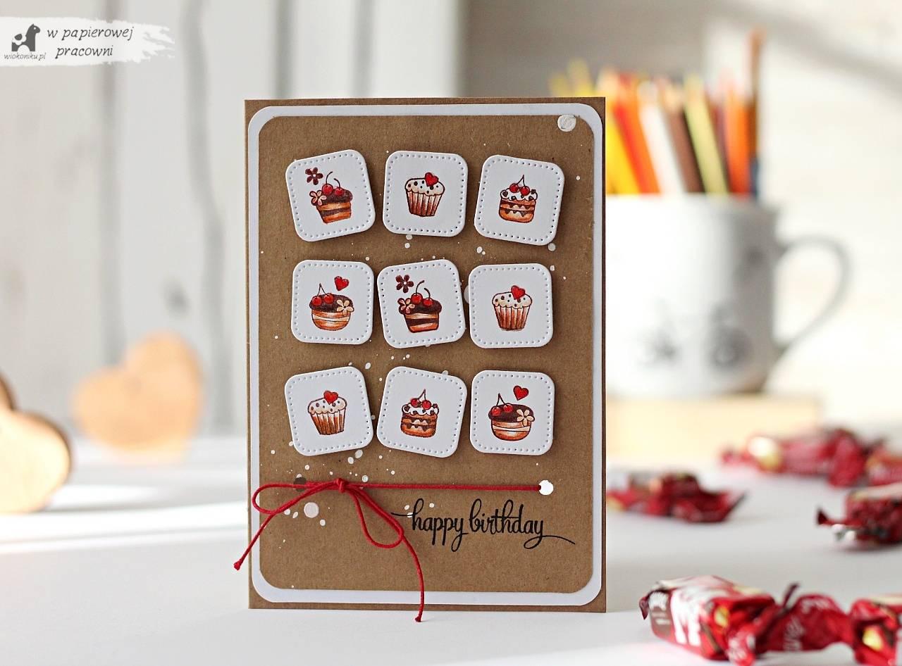 kartka urodzinowa w stylu Clean&Simple
