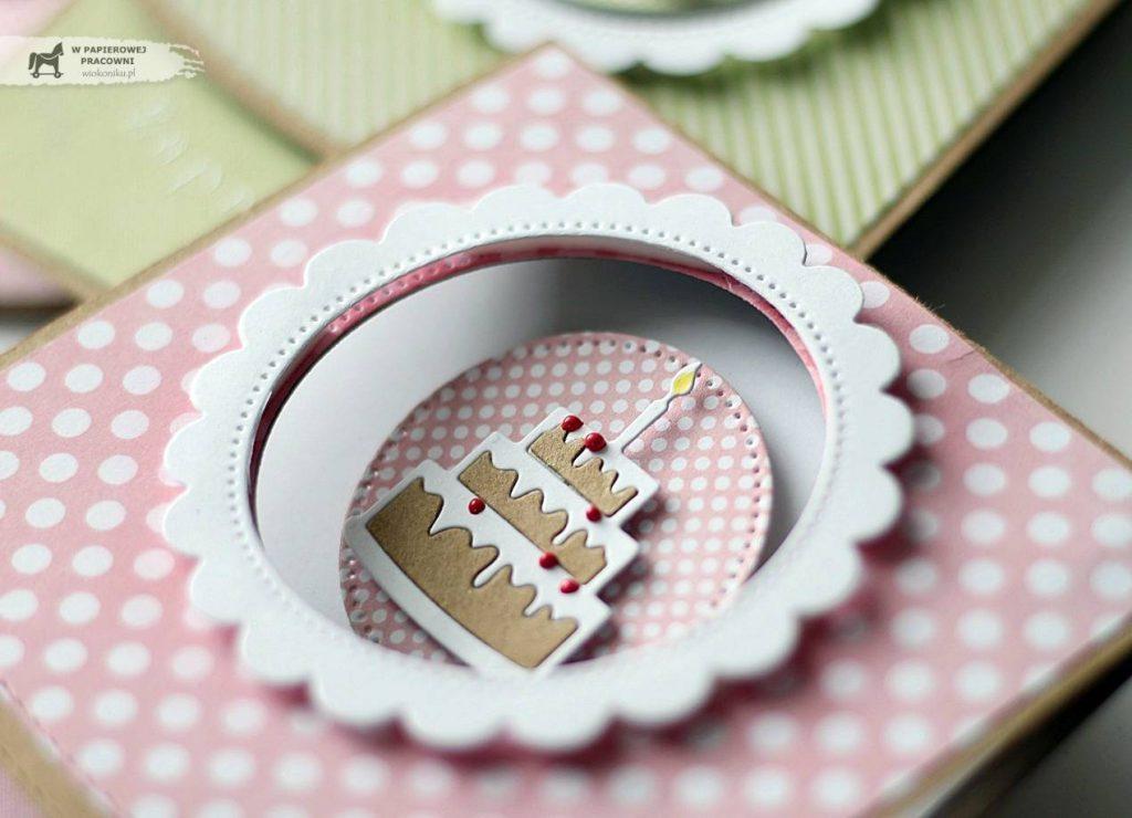 Tort element dekoracji zaproszenia na roczek