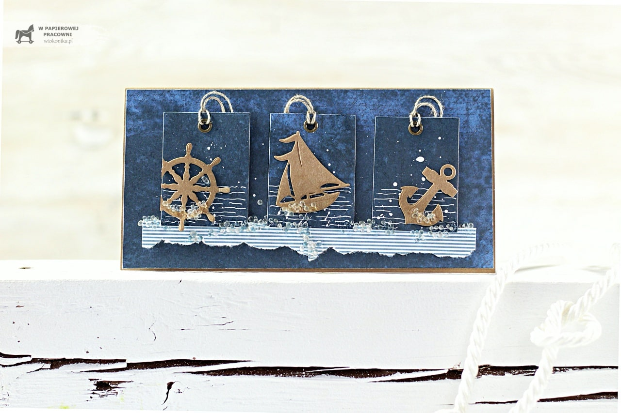 Wakacyjna kartka morska